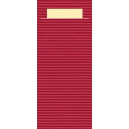 "EUROPOCHETTE® Bestekzakjes ""Kraft"" Bordeaux 600 stuks"