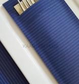 """EUROPOCHETTE® Bestecktaschen """"Kraft"""" Blau, 600 Stück"""