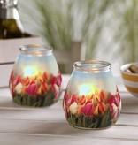 Bolsius Professional Twilight Tulpen, 6 Stück