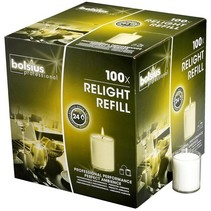 Refills ReLight Transparent (100 stück)