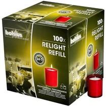 Refills ReLight Rood (100 stuks)