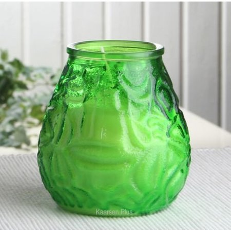 Bolsius Professional Lowboy Lime Groen