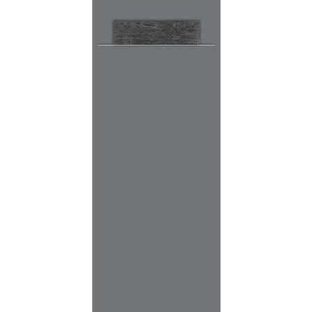 EUROPOCHETTE® Bestecktaschen Shark Black, 600 Stück