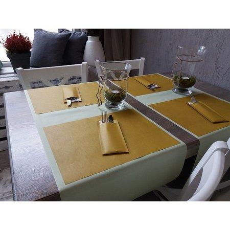 EUROPOCHETTE® Bestecktaschen Mustard White, 600 Stück