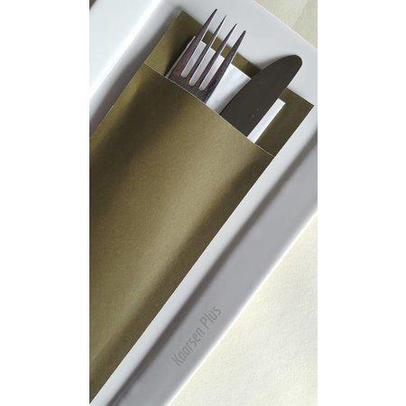 EUROPOCHETTE® Bestecktaschen Sage White, 600 Stück