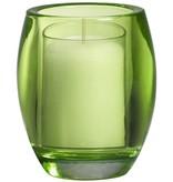 Bolsius Professional Relight Refill Halter Oval  Lemon 4 Stück