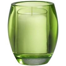 Refillhouder Oval Lime, 4 Stuks