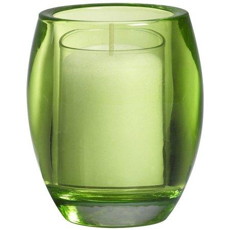 Bolsius Professional Refillhouder Oval Lime 4 Stuks