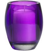 Bolsius Professional Relight Refill Halter Oval  Violett, 4 Stück