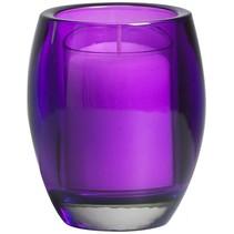 Relight Refill Halter Oval Violett, 4 Stück