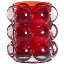 Refillhouder Bubble Rood, 6 stuks