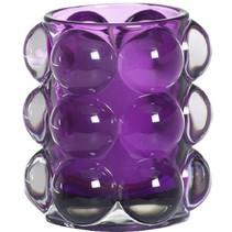 Refillhouder Bubble Paars, 6 stuks