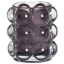 Refillhouder Bubble Antraciet, 6 stuks