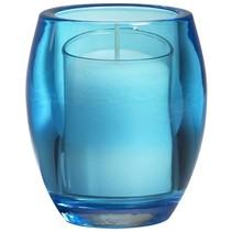 Relight Refill Halter Oval Aqua, 4 Stück