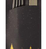 Hodi Weihnacht Bestecktaschen Large (Snow), 325 Stück