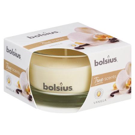 Bolsius Geurglas 80/50 True Scent Vanille