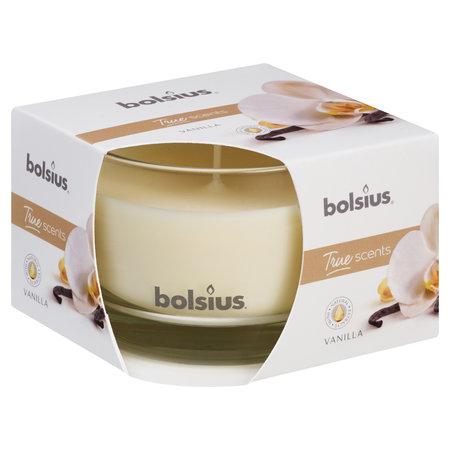 Bolsius Duftglas 90/63 True Scents, VANILLE