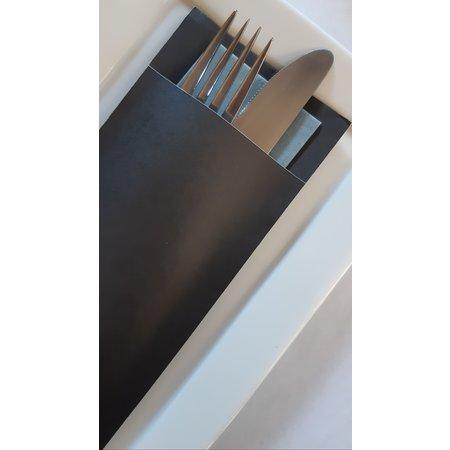 EUROPOCHETTE® Bestecktaschen Carbon Grey, 600 Stück