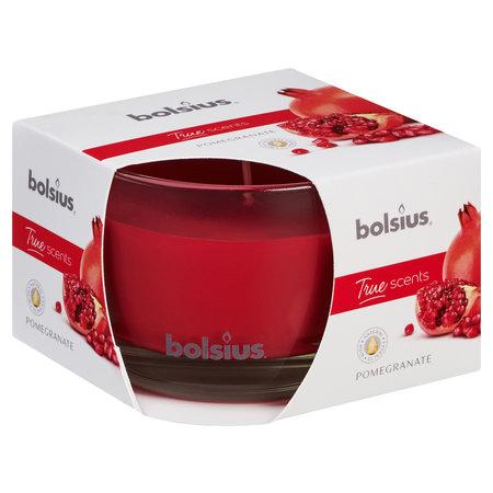 Bolsius Duftglas 90/63 True Scents, GRANATAPFEL
