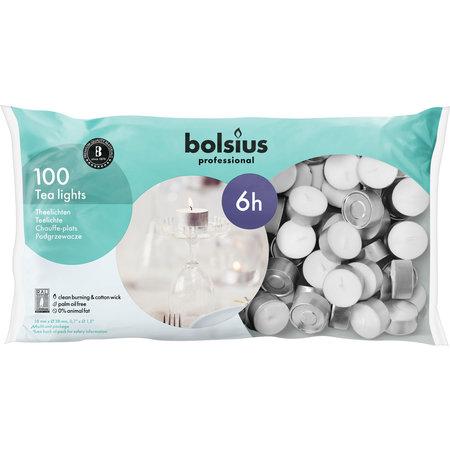 Bolsius Professional Theelicht 6 uur 600 stuks
