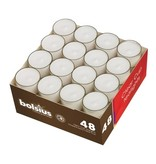 Bolsius Clear Cup Theelicht 8 uur, 288 stuks