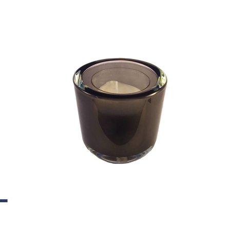 Refill Houder Donkergrijs Transparant