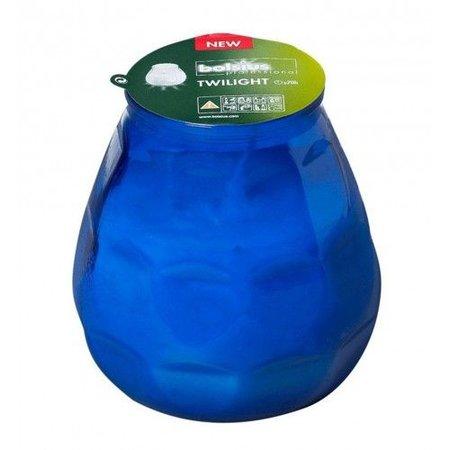 Bolsius Professional Bolsius Twilight Blau, 12 Stück