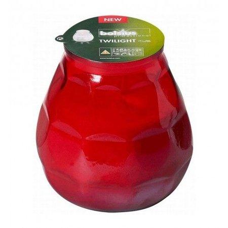 Bolsius Professional Bolsius Twilight Rot, 12 Stück