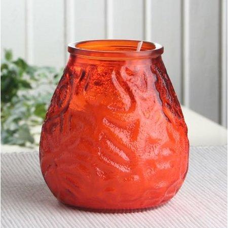 Bolsius Professional Lowboy Orange, 12 Stück