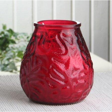 Bolsius Professional Lowboy Rot, 12 Stück