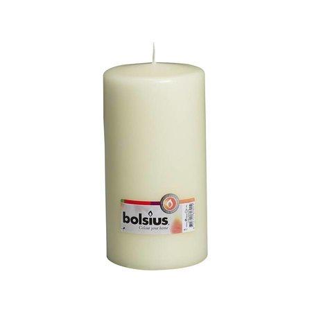 Bolsius Professional Stumpenkerze 200/100 Elfenbein oder Weiß