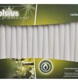 Bolsius Professional Spitzkerzen Weiß, 100 Stück