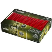 Spitzkerzen Rot 100 Stück