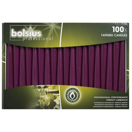 Bolsius Professional Spitzkerzen Lila 100 Stück