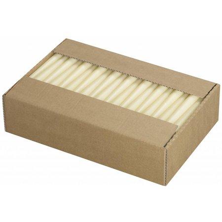 Spitzkerzen Elfenbein, 100 Stück