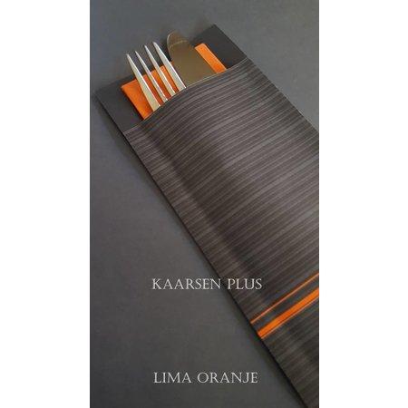 """EUROPOCHETTE® Bestecktaschen """"Lima"""" Orange, 600 Stück"""
