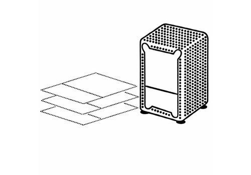 Dispenser servetten Groothandelsverpakking 3000stuks