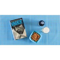 Mexicaans tafelzeil op rol 11m Ruit lichtblauw