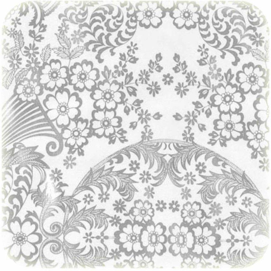 Tafelzeil Paraïso / Barok - Rol - 120 cm x 11 m - Zilver
