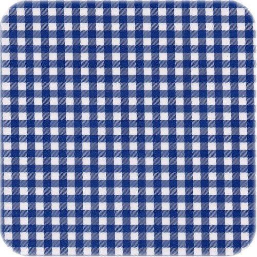 Tafelzeil 3m Ruitje donkerblauw