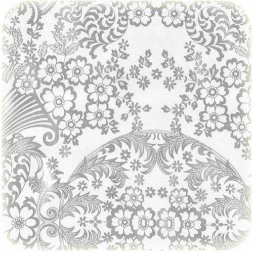 Tafelzeil 3m Paraiso zilver