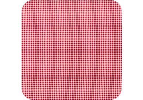 Tafelzeil 2,5m Ruitje rood