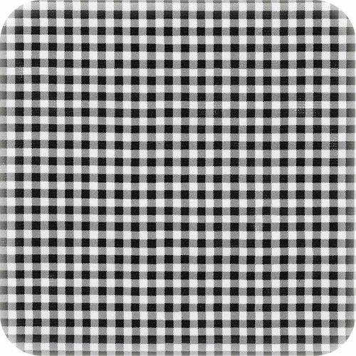 Tafelzeil 2m ruit zwart