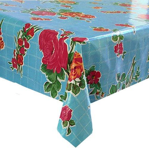 Tafelzeil 2m rosedal aqua blauw