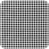 Mexicaans Tafelzeil vierkant 1,20m bij 1,20m Ruit zwart