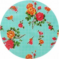 Rond tafelzeil 120cm rosedal mint