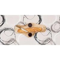 Gecoat tafellinnen op rol 25m x140cm Painted Circles