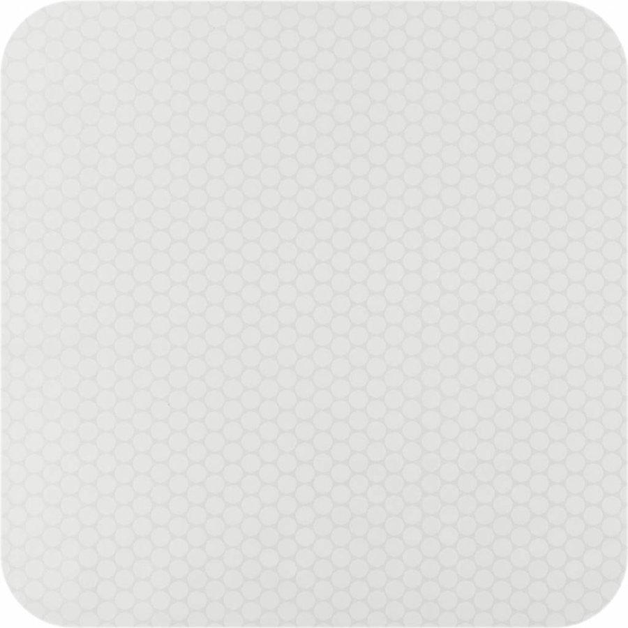 Gecoat tafelkleed wit 2,5m x 1,4m
