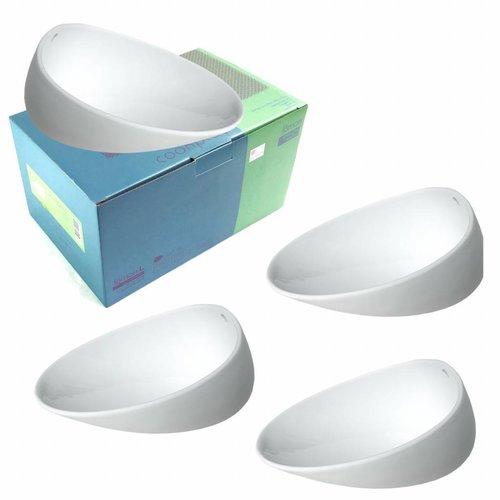 Jomon Large Wit Bowl 4-delig