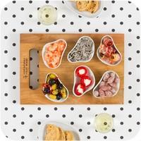 Cookplay Yayoi Appetizer tapasbakjes 6x wit porselein